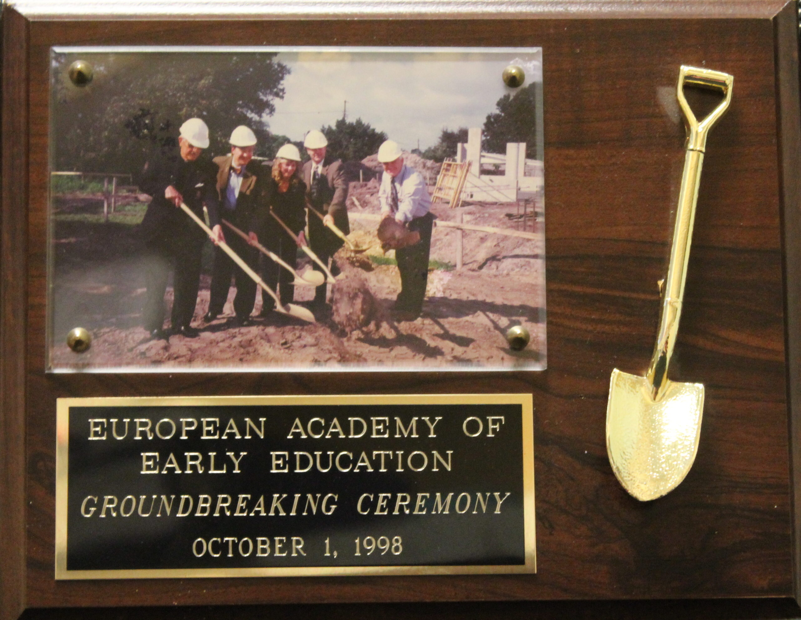 EEAE Groundbreaking ceremony image